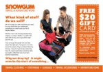 Snowgum Free $20 Gift Card (No Minimum Spend) [In Store Only - Online Expired]