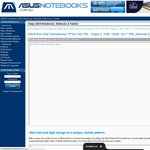 "ASUS Eee Pad 10.1"" Transformer TF101- $199 + $9.95 Shipping @ Asusnotebooks. (Refurbished)"