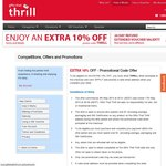 Extra 10% off Sale at Gifts That Thrill
