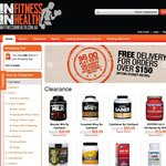 Vitamins, Protein Powder, Pre Workout, and More! 10% OFF CLEARANCE SALE