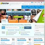 UNLIMITED $0.98 Domain Registrations at NameCheap for .me Top-Level Domains