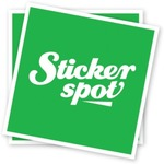 150x Gloss Full Colour Stickers 100x100mm $9.90 (Normally $148.00) with Free OZBARGAIN Stickers