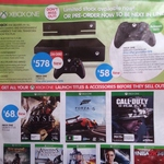 Xbox One $578, Controllers $58, Launch Games $68 @ Big W