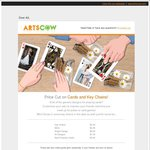 Playing Cards and Key Chains Starting from Just $3.99 Shipped -Artcows.com
