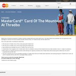 Thredbo Lift Pass - 25% off 3 Day or 6 Days Lift Pass and More (Requires a MasterCard)