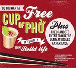 FREE Cup of Phở for Joining Rolld Life! @ Rolld [FB Required]