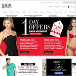 One Day Sale - Now Save up to 50% at David Jones!