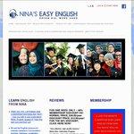 Nina's Easy English Language Course - 66% Discount