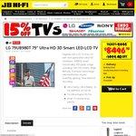 "LG 79UB980T 79"" Ultra HD 3D Smart LED TV + XboxOne  $8,496.60 @ JB Hifi"