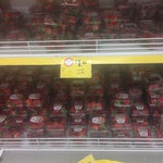 Strawberry Punnets 250g $1 Coles Werribee Plaza VIC