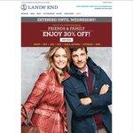 Lands' End 30% Off Storewide