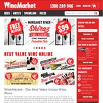 $25 off Wine Minimum $60 Spend at Wine Market. Ends 5PM Today