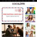 Cocolatte Free Shipping (No Minimum Spend)