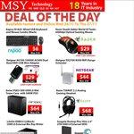 MSY - Deal of the Day - $29 Razer DeathAdder, $64 Antec NSK USB 3.0 case, $6 Rapoo Mouse/KB set
