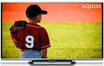 "Sharp 60"" FHD 3D Quattron LCD LED TV LC60LE951X $1699 Carton Damaged + DEL - 2nds World"