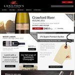 $50 / $100 off Wine before New Year's at Langton's