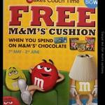 FREE M&Ms Cushion: Spend $10+ on M&Ms Range @ Big W