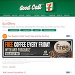 Free Regular Coffee with Any Purchase on Fridays @ 7-Eleven