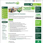 Woolworths Car Insurance: Get a $100 Gift Card with Every New Policy