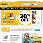 Petbarn 20% off - Online with Free Shipping