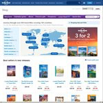 2 for 1 on All Print and eBook Titles @ Lonely Planet