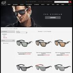 Fox Racing Sunglasses 50% off This Weekend, from $49.99, $10 shipping