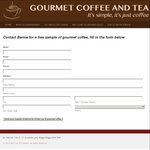 FREE Gourmet Coffee Sample [$0 Delivered]