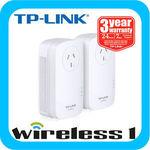 TP-Link TL-PA8010P KIT Ethernet AV1200 Gigabit Passthrough Powerline Starter Kit $111.20 at eBay Wireless1