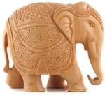 Wooden Elephant Statue - $34.95 + $8.95 Delivery (Was $39.95) @ Amiya.com.au