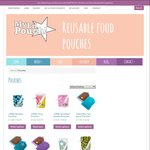 My Lil Pouch 50% off Snowflake and Blockies Pouches