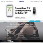 Free Samsung Gear Fit 2 - When You Purchase a Galaxy S7/S7 Edge