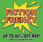 Buy 2 Adult Fiction Titles, Get 1 Free @ QBD The Bookshop