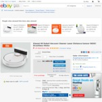 Xiaomi Mi Robot Vacuum Cleaner $367.96 @ Shopping Square eBay