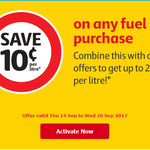 FlyBuys: Save 10c (P/Litre) off Fuel @ Coles Express