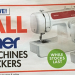 50% off All Brother Sewing Machines and Overlockers @ Spotlight