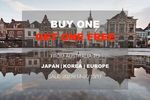 China Eastern Airlines to Japan/Korea/Europe BUY 1 GET 1 FOR FREE