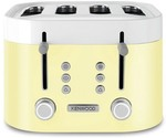 NEW Kenwood Ksense 4 Slice Toaster (Yellow or Blue Only) - $99 Pickup (+ $9 Delivery) @ 2nds World