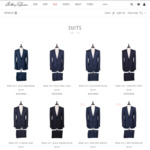Anthony Squires | 25% off All Suits (Luxury Suiting in Superfine Merino - from $699)