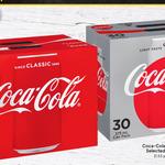 30 x Coca-Cola 375 mL Can Varieties $16.99 @ WA IGA or $17.22 @ Vic Qld Supa IGA