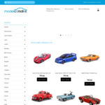 20% off Everything at Modelcarsales for Christmas (Discount Applied in Cart)