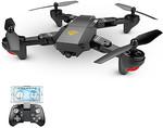 RC Drone VISUO XS809W 4ch 6 Axis 2.4g with 720P HD US $33.99 (~AU $46.96) Delivered @ LightInTheBox