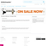 The Book of Mormon, Melbourne - $69.90 (Usually $140) (+ $8.75 Booking Fee) @ Ticketmaster Via Groupon