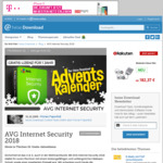 AVG Internet Security 2018 FREE One Year License. Today Only