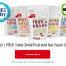 FREE Dried Fruit and Nut Pouch (200g) with Flybuys Offer @ Coles
