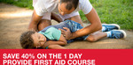 [WA Perth Metro Only] 40% off St John Ambulance Provide First Aid Course HLTAID003 One Day Course - Now $96, Was $160