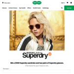 Win a $500 Superdry Voucher & Two Pairs of Designer Glasses from Specsavers