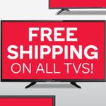 Free Shipping on All TVs @ Kogan