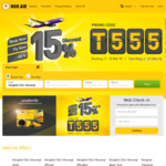 15% off Airfares @ Nok Air (Travel between 4-31 March)