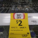 Voss Water, (375ml) $2 at Coles