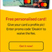 Free Personalised Card from Bendigo Bank (Student Deal)
